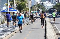 16/05/2020 - MOVIMENTAÇÃO PRAIA RIO DE JANEIRO-RJ