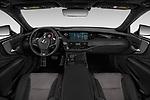 Stock photo of straight dashboard view of a 2018 Lexus LS 500 F-SPORT 4 Door Sedan