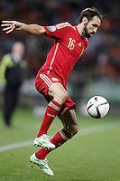 Spain's Juanfran Torres during 15th UEFA European Championship Qualifying Round match. November 15,2014.(ALTERPHOTOS/Acero) /NortePhoto nortephoto@gmail.com