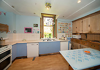 """BNPS.co.uk (01202) 558833. <br /> Pic: KnightFrank/BNPS<br /> <br /> Pictured: Kitchen. <br /> <br /> A castle that was burnt down by a pirate, involved in the English Civil War and has been in the same family for five centuries is on the market for offers over £650,000.<br /> <br /> Kilberry Castle, which dates back to the 15th century, has an incredible history and still has a wealth of original features including a 288-year-old mausoleum.<br /> <br /> It sits in 21 acres of land on the Scottish west coast, with stunning views over Kilberry Bay and out to the islands of Islay, Jura and Gigha.<br /> <br /> The four-storey tower house now needs a buyer """"with deep pockets and great imagination"""" to carry out a complete refurbishment but it has a lot of potential."""