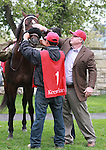 15 April 2011.  #1 Court Vision was the subject of controversy when trainer Rick Dutrow was denied a training license in Kentucky.   The Kentucky courts ruling allowed the horse to run under the name of Assistant Trainer, Justin Sallusto.