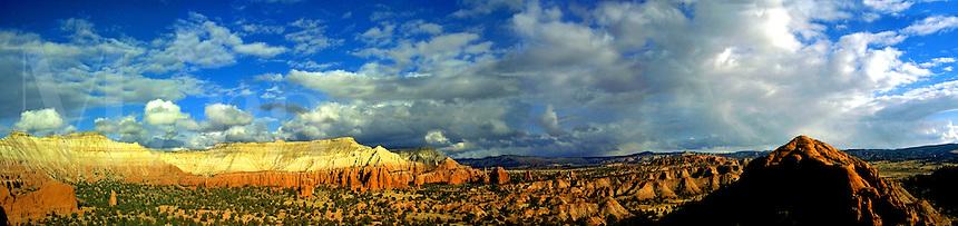 Kodachrome Basin State Park panorama. Utah, Kodachrome Basin State Park, Utah