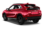 Car pictures of rear three quarter view of 2020 Mitsubishi Eclipse-Cross BLACK-Collection+ 5 Door SUV Angular Rear