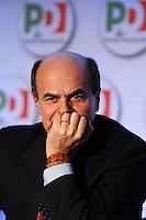 Pier Luigi Bersani.Roma 20/1/2012 Nuova Fiera Di Roma.Assemblea Nazionale PD Partito Democratico.Foto Insidefoto Andrea Staccioli