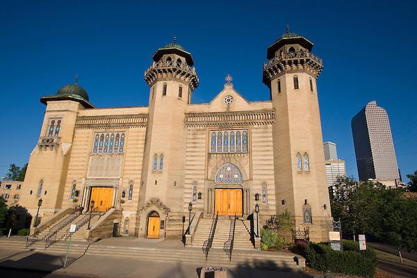 Church in Denver, Colorado, USA John offers private photo tours of Denver, Boulder and Rocky Mountain National Park.