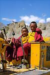 Dhankar Gompa, Himachal Pradesh, India, August 2001.