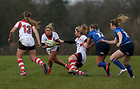 Sunday 3rd December 2017; Ulster Women vs Leinster Women<br /> <br /> Emma Jordan during the Women's Inter-Pro between Ulster and Leinster at Dromore RFC, Barbon Hill, Dromore, County Down, Northern Ireland. Photo by John Dickson / DICKSONDIGITAL