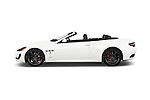 Car Driver side profile view of a 2017 Maserati GranTurismo Convertible Sport Door convertible Side View
