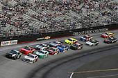 #18: Kyle Busch, Joe Gibbs Racing, Toyota Supra Juniper and #00: Cole Custer, Stewart-Haas Racing, Ford Mustang Haas Automation