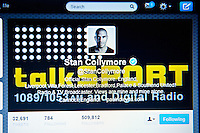 Wednesday 22 January 2014<br /> Pictured:Twitter Home Page<br /> Re: Former footballer Stan Collymore has accused Twitter of not doing enough to combat abusive messages after he was targeted by internet trolls. The broadcaster has retweeted some of the offensive messages he has received since he suggested Liverpool striker Luis Suarez dived to earn a penalty in Saturday's match against Aston Villa.