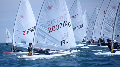 ILCA Ulster Championships recently hosted by CAYC in Whitehead attracted 56 boats. The Wexford event on July 17 is limited to 100 boats.