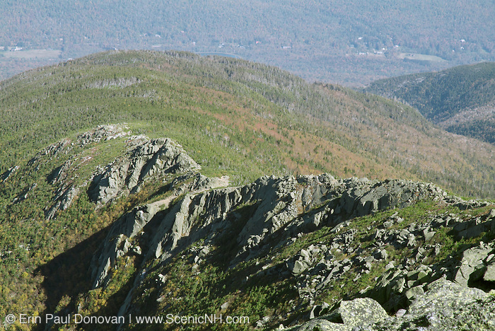 Durand Ridge from Gulfside Trail in the beautiful scenic landscape of the  Northern Presidential Range, which is  located in the White Mountain National Forest of New Hampshire USA.