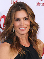 """HOLLYWOOD, LOS ANGELES, CA, USA - MAY 01: Cindy Crawford at the Los Angeles Premiere Of Lifetime Television's """"Return To Zero"""" held at Paramount Studios on May 1, 2014 in Hollywood, Los Angeles, California, United States. (Photo by Xavier Collin/Celebrity Monitor)"""