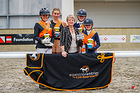 North Island Team: 2021 NZL-Equestrian Entries NZ Youth Dressage Festival. NEC Taupo. Sunday 31 January. Copyright Photo: Libby Law Photography