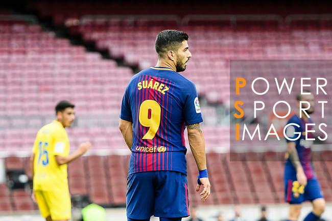 Luis Alberto Suarez Diaz of FC Barcelona looks during the La Liga 2017-18 match between FC Barcelona and Las Palmas at Camp Nou on 01 October 2017 in Barcelona, Spain. (Photo by Vicens Gimenez / Power Sport Images