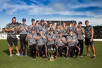 161209 College Cricket - NZ First XI Cup Final