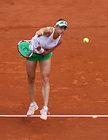 France, Paris, 02.06.2014. Tennis, French Open, Roland Garros,  Andrea Petkovic (GER)<br /> Photo:Tennisimages/Henk Koster