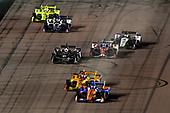 Scott Dixon, Chip Ganassi Racing Honda, Ryan Hunter-Reay, Andretti Autosport Honda, Ed Carpenter, Ed Carpenter Racing Chevrolet