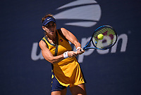 8th September 2021; New York, USA;  2021 US Open Belinda Bencic, Switzerland  during her quarter final loss to Emma Raducanu of the Great Britain