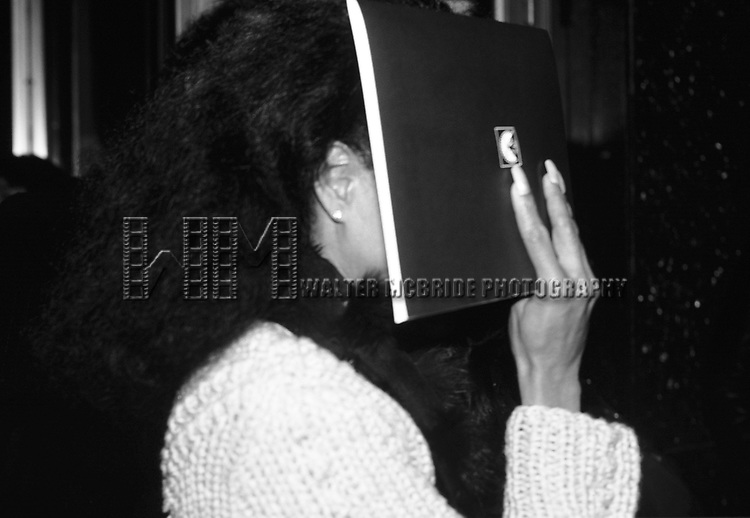Diana Ross in New York City, May 1, 1986