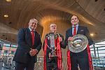 180319 Wales Grand Slam rugby celebration Cardiff Bay