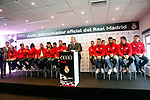 Real Madrid team participates and receives new Audi during the presentation of Real Madrid's new cars made by Audi at the Jarama racetrack on November 8, 2012 in Madrid, Spain.(ALTERPHOTOS/Harry S. Stamper)