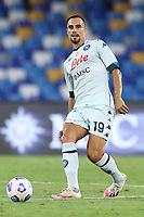 Nikola Maksimovic of SSC Napoli<br /> during the friendly football match between SSC Napoli and Pescara Calcio 1936 at stadio San Paolo in Napoli, Italy, September 11, 2020. <br /> Photo Cesare Purini / Insidefoto