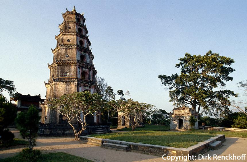 Thien Mu-Pagode in Hue, Vietnam, Unesco-Weltkulturerbe