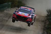 21st May 2021, Arganil, Portugal. WRC Rally of Portugal;  Dani Sordo-Hyundai i20WRC