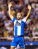 Deportivo de la Coruna's Florin Andone during La Liga match. August 20,2017.  *** Local Caption *** © pixathlon