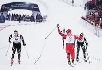 Holmenkollen, 20110224. Sprint. Ola Vigen Hattestad. Foto: Eirik Helland Urke / Dagbladet