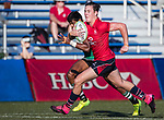 Paul Altier of Hong Kong runs in a try during the Asia Rugby U20 Sevens 2017 at King's Park Sports Ground on August 5, 2017 in Hong Kong, China. Photo by Yu Chun Christopher Wong / Power Sport Images