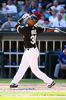 August 15 2008:  Dewayne Wise of the Chicago White Sox during a game at U.S. Cellular Field in Chicago, IL.  Photo by:  Mike Janes/Four Seam Images