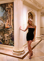 LAS VEGAS, NV - July 15, 2021: Hannah Godwin pictured in a Villa at Westgate Las Vegas Resort & Casino in Las Vegas, NV on July 15, 2021. <br /> CAP/MPI/GDP<br /> ©GDP/MPI/Capital Pictures