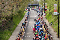 peloton snaking up the Cauberg<br /> <br /> 52nd Amstel Gold Race (1.UWT)<br /> 1 Day Race: Maastricht › Berg en Terblijt (264km)