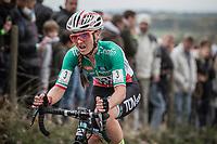 Italian National Champion Eva Lechner (ITA/Creafin-TuvSud)<br /> <br /> women's race.<br /> Koppenbergcross Belgium 2018