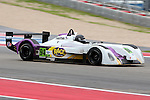 Darryl Shoff (94), Comprent Motorsports driver in action during the ALMS/WEC practice sessions at the Circuit of the Americas race track in Austin,Texas.