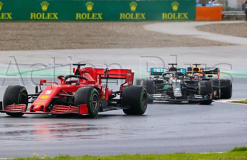 15th November 2020; Istanbul Park, Istanbul, Turkey; FIA Formula One World Championship 2020, Grand Prix of Turkey, Race Day;  5 Sebastian Vettel GER, Scuderia Ferrari Mission Winnow