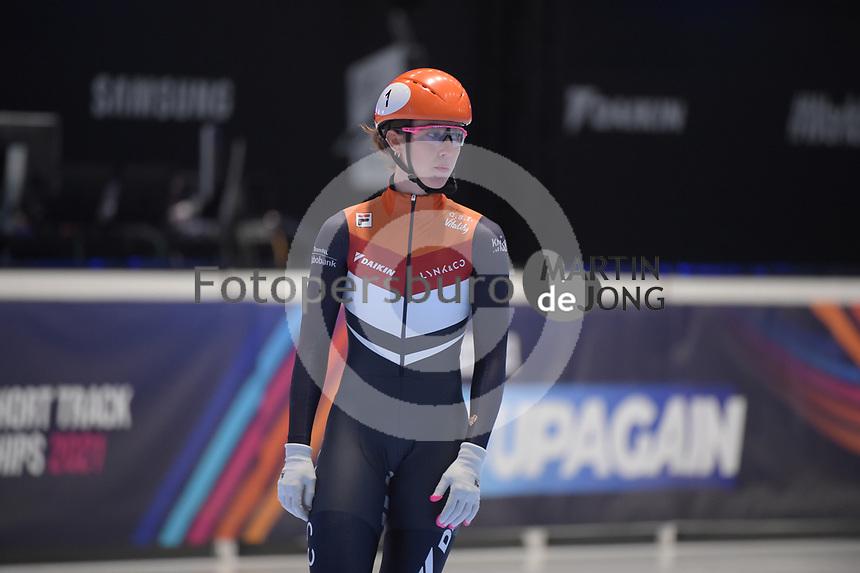 SPEEDSKATING: DORDRECHT: 06-03-2021, ISU World Short Track Speedskating Championships, ©photo Martin de Jong