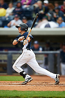 West Michigan Whitecaps outfielder Austin Schotts (5) at bat during a game against the Cedar Rapids Kernels on June 7, 2015 at Fifth Third Ballpark in Comstock Park, Michigan.  West Michigan defeated Cedar Rapids 6-2.  (Mike Janes/Four Seam Images)