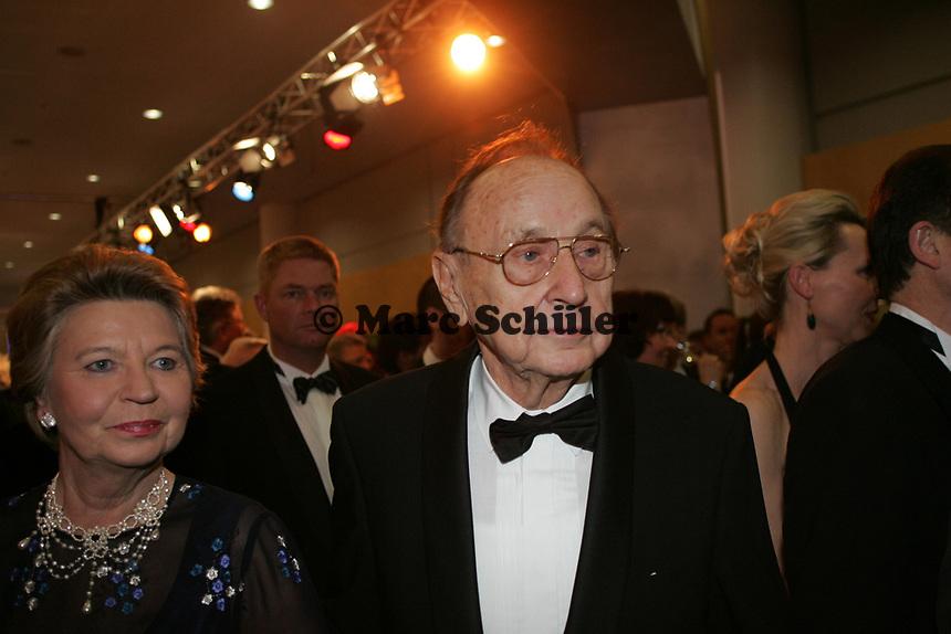 Ex-Aussenminister Hans-Dietrich Genscher
