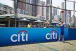 Branding at the HKFC Citi Soccer Sevens on 22 May 2016 in the Hong Kong Footbal Club, Hong Kong, China. Photo by Li Man Yuen / Power Sport Images