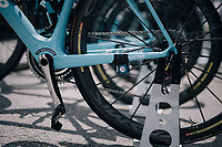 Team AG2R-La Mondiale bikes ready at the start<br /> <br /> 104th Tour de France 2017<br /> Stage 4 - Mondorf-les-Bains › Vittel (203km)