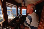 .Kontesa captain.Cruise in Croatia. Island of Dalmatia