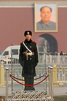 CHINA Peking Beijing Platz des himmlischen Frieden Tiananmen Platz , Mausoleum KP Fuehrer Mao Zedong ( Mao Tse-Tung ) - CHINA Beijing Tiananmen square, Mausoleum Mao Zedong ( Mao Tse-Tung )