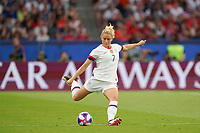 PARIS, FRANCE - JUNE 28: Abby Dahlkemper #7 during a 2019 FIFA Women's World Cup France quarter-final match between France and the United States at Parc des Princes on June 28, 2019 in Paris, France.
