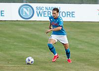 Piotr Zielinski  durante il Triangolare precampionato nel ritiro estivo  tra Napoli , L'Aquila e il Castel Di Sangro allo stadio Patini