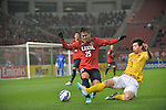 Kashima Antlers vs Guangzhou Evergrande during the 2015 AFC Champions League Group H match on April 07, 2015 at the Kashima Soccer Stadium in Ibaraki, Japan. Photo by Kazuaki Matsunaga / World Sport Group