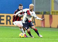Milano 07-02-2021<br /> Stadio Giuseppe Meazza<br /> Serie A  Tim 2020/21<br /> Milan - Crotone nella foto:  Alessio Romagnoli                                                        <br /> Antonio Saia Kines Milano