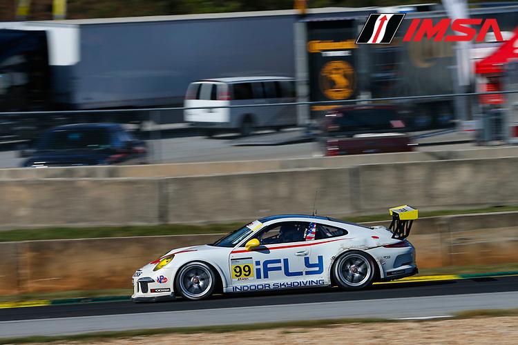 IMSA Porsche GT3 Cup Challenge USA<br /> Road Atlanta<br /> Road Atlanta, Braselton GA<br /> Friday 6 October 2017<br /> 99, Alan Metni, GT3G, USA, 2016 Porsche 991<br /> World Copyright: Jake Galstad<br /> LAT Images